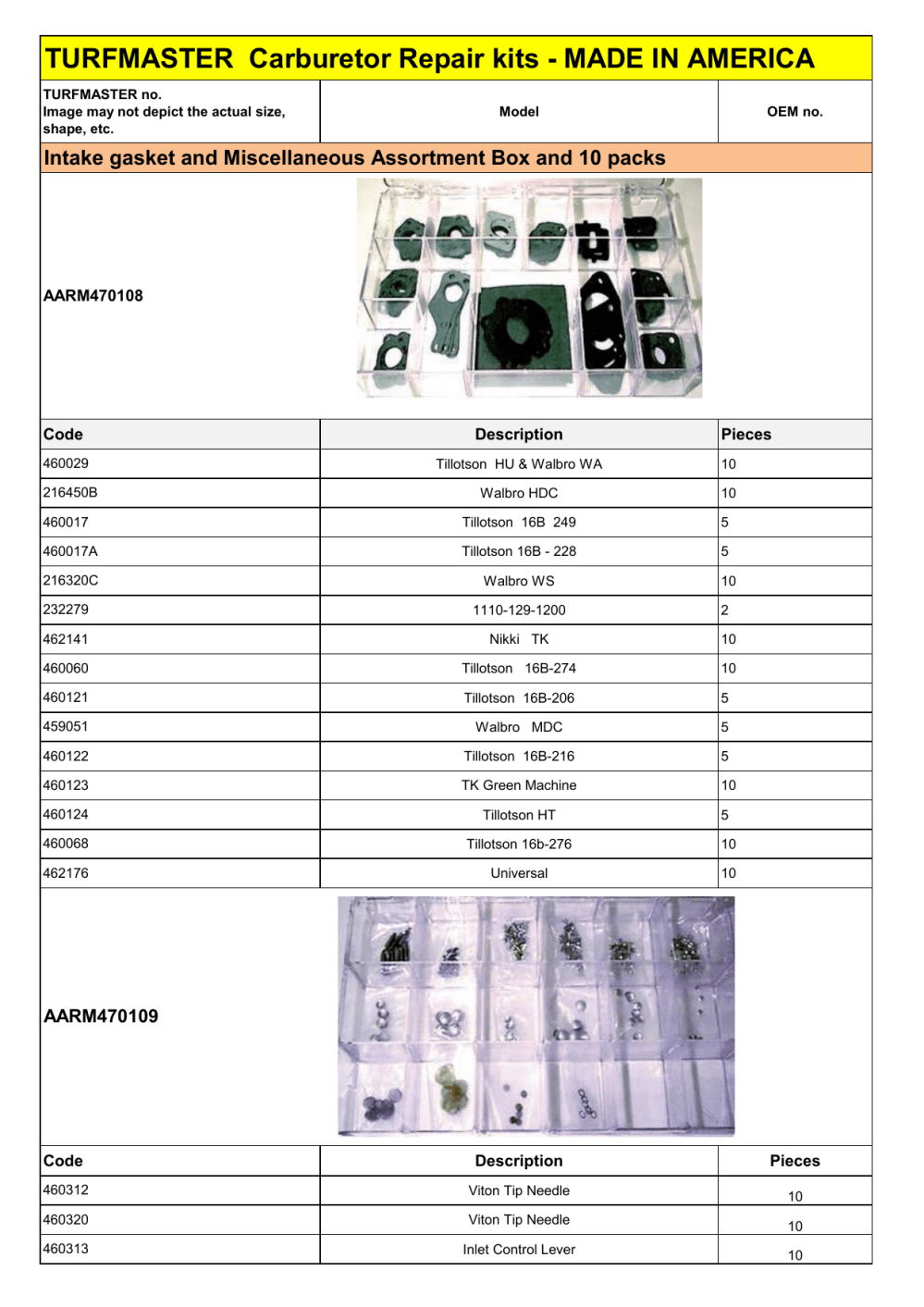 medium resolution of carburetor repair kits