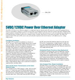 5vdc 12vdc power over ethernet adapter [ 1238 x 1755 Pixel ]