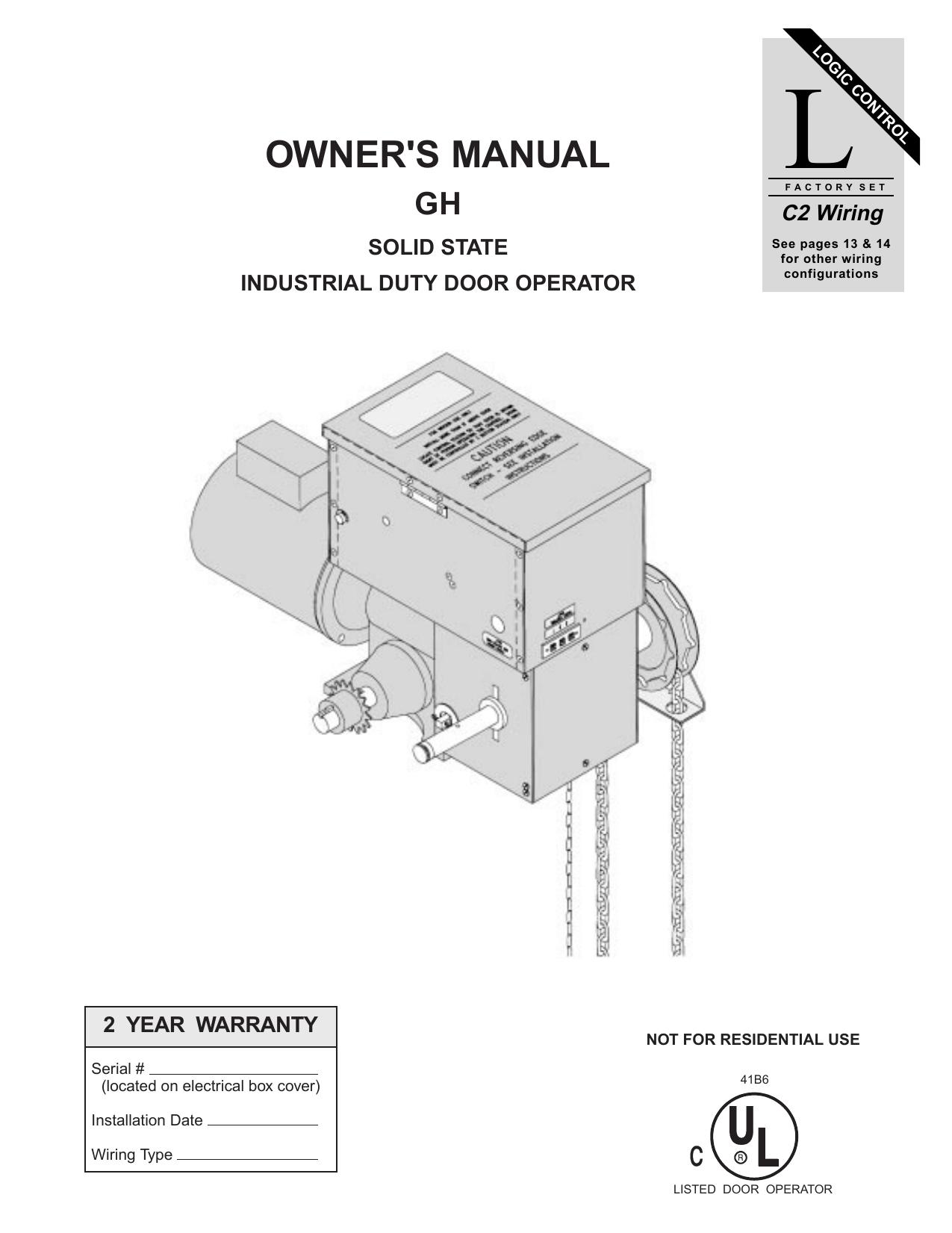 hight resolution of cdo manual liftmaster link gh