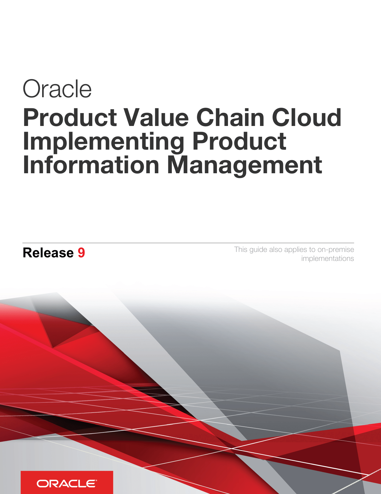 hight resolution of oracle product value chain cloud implementing product