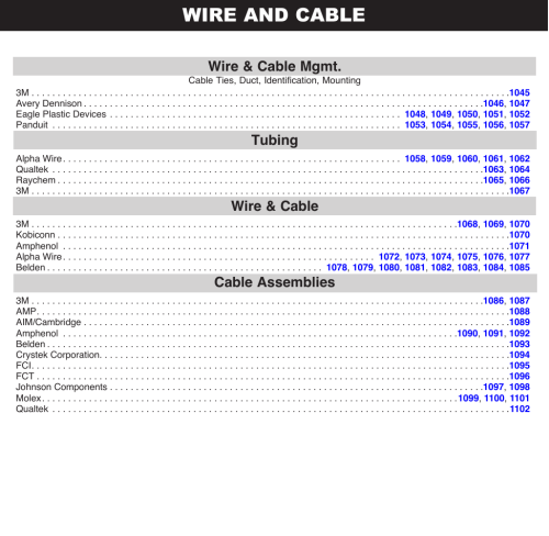 small resolution of wire and cable section