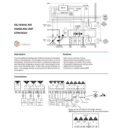 iql16 ahu air handling unit strategy data sheet [ 1240 x 1755 Pixel ]