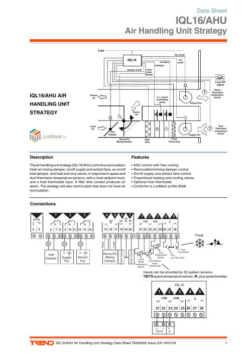 small resolution of iql16 ahu air handling unit strategy data sheet