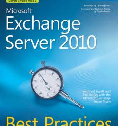 microsoft exchange server 2010 best practices [ 1107 x 1350 Pixel ]