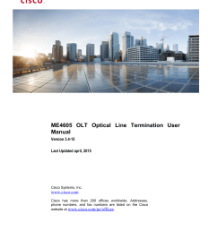 me4605 olt installation and configuration guide [ 1275 x 1651 Pixel ]