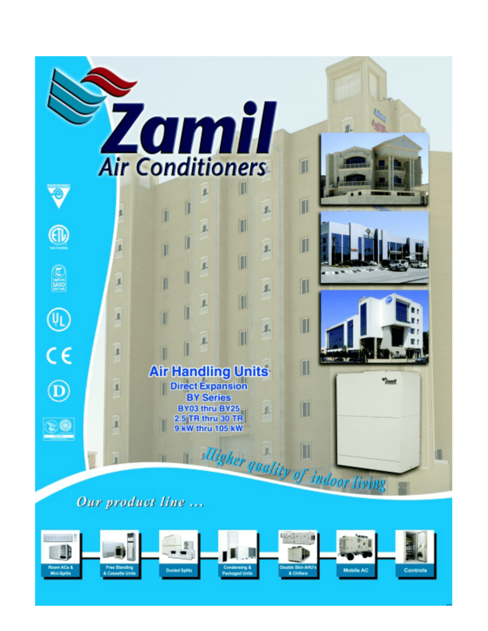 medium resolution of by series zamil air conditioners