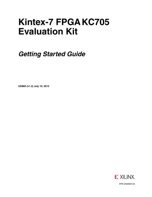 small resolution of xilinx ug883 kintex 7 fpga kc705 evaluation kit getting started
