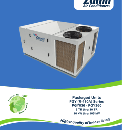 pgy r 410a series pmd zamil air conditioners [ 1288 x 1684 Pixel ]