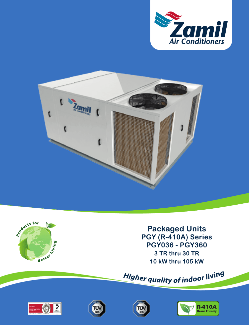 medium resolution of pgy r 410a series pmd zamil air conditioners