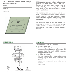 emergency relay 0 10v dimming wiring diagram [ 1275 x 1651 Pixel ]