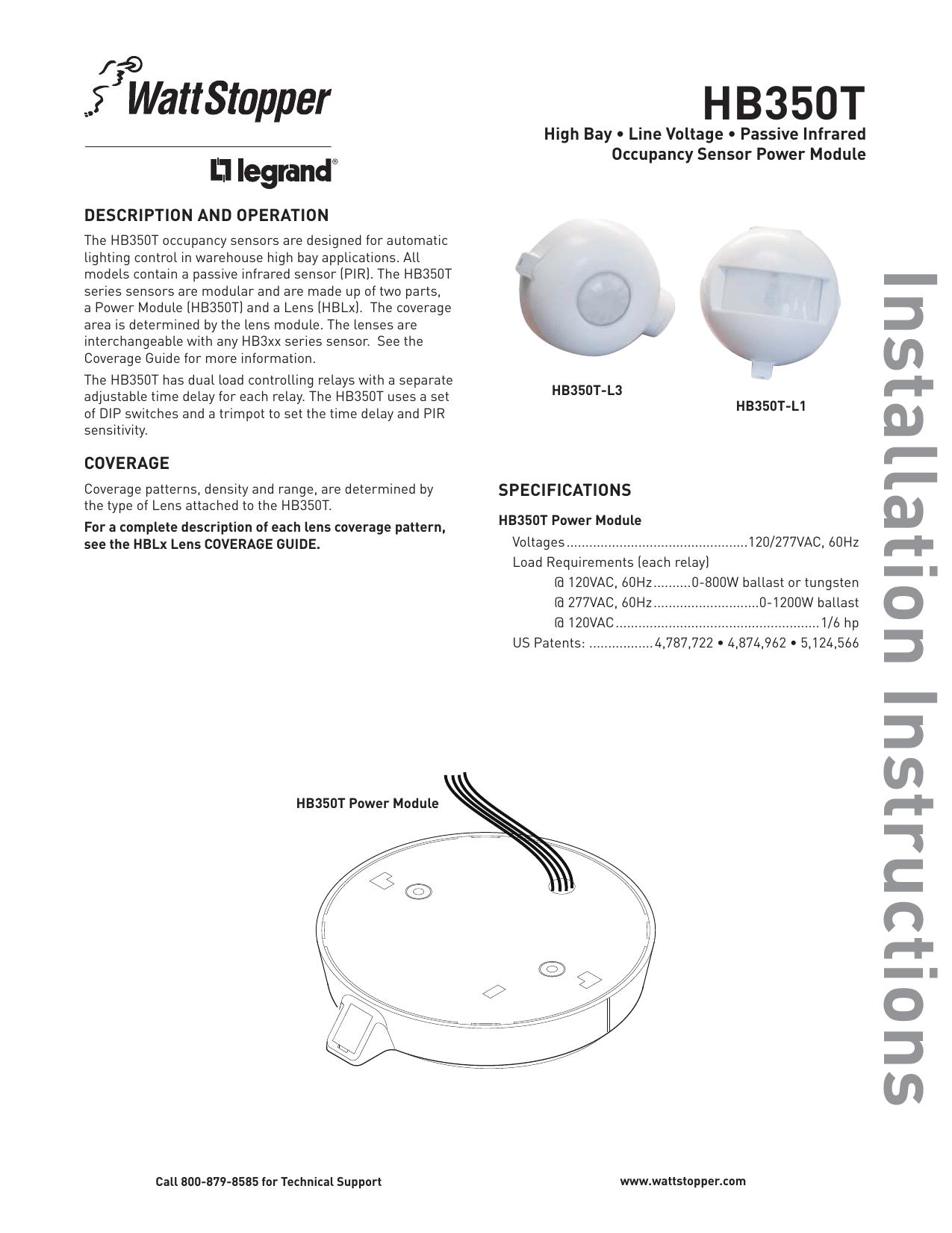 hight resolution of line voltage occupancy sensor wiring diagram