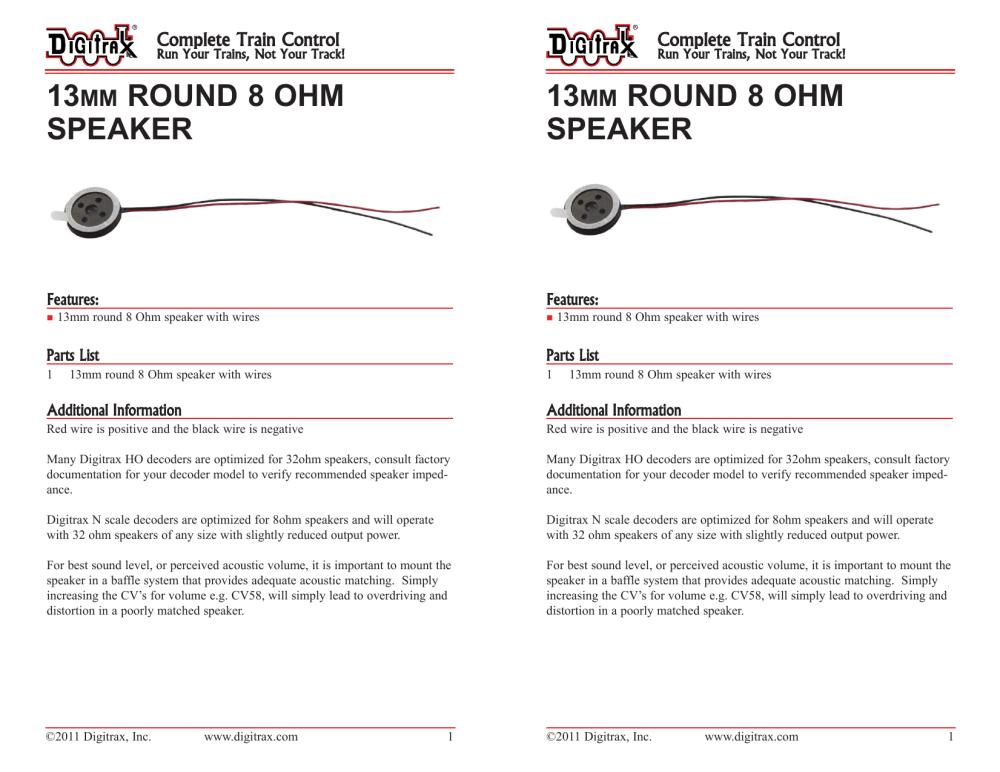 medium resolution of 13mm round 8 ohm speaker speake
