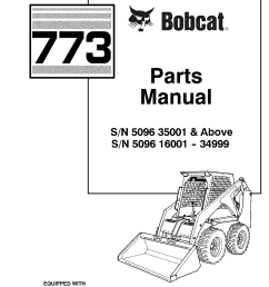 untitled used loader parts manualzz combobcat 773 part number 6576261 diagram 17 [ 1240 x 1755 Pixel ]