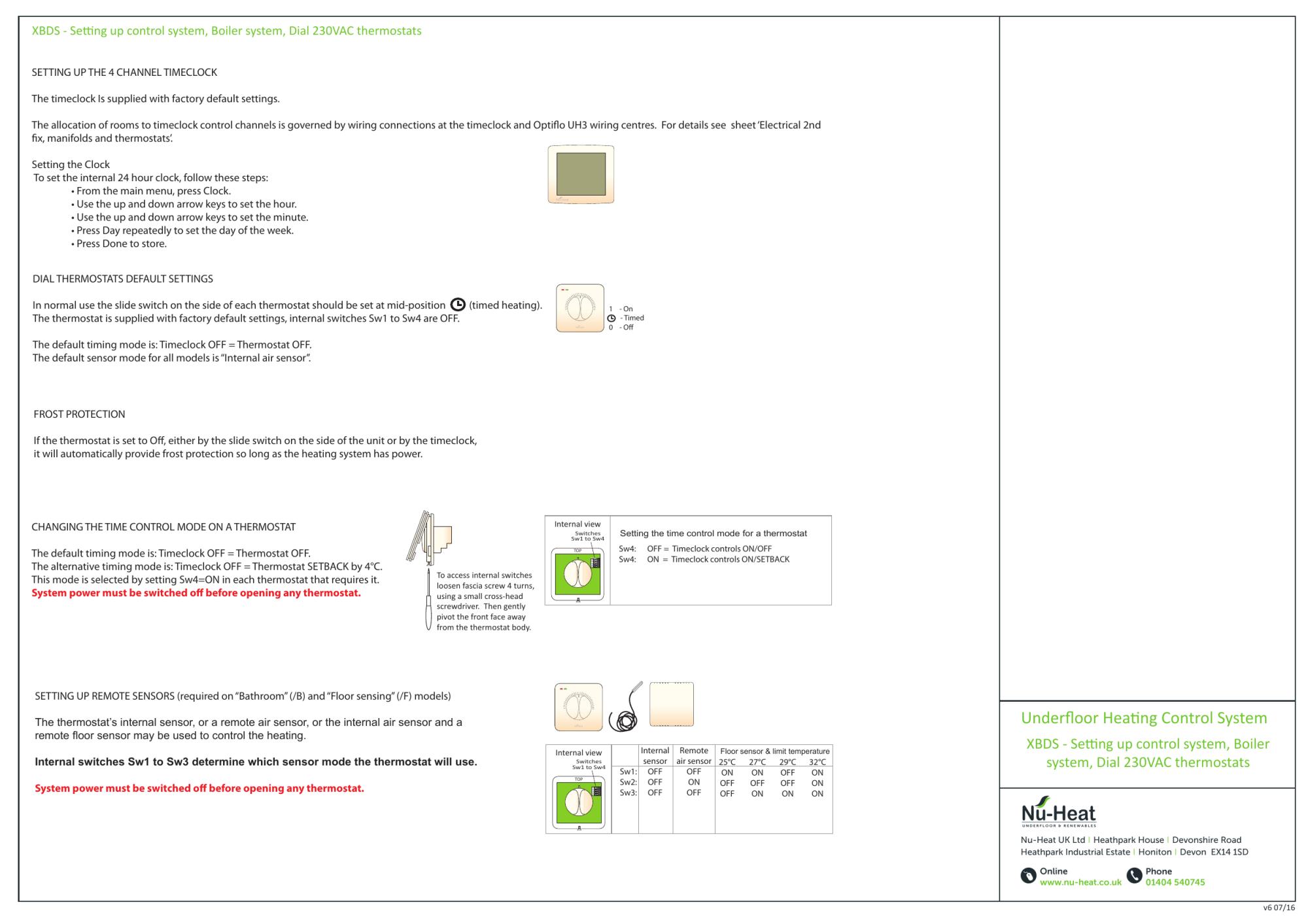 hight resolution of nu heat underfloor heating wiring diagram