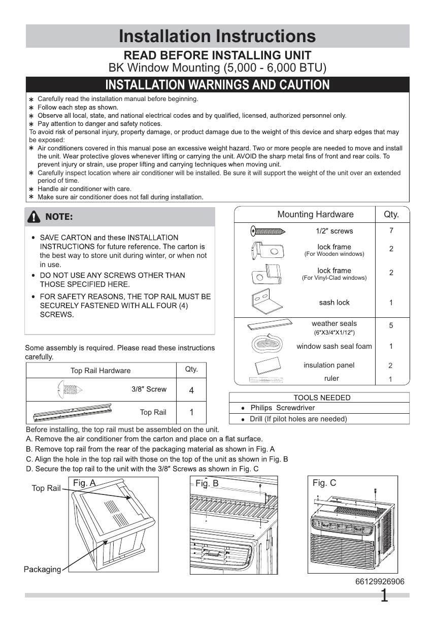 hight resolution of frigidaire ffre0633u1 wiring diagram installation instructions