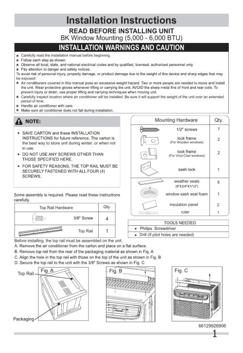 small resolution of frigidaire ffre0633u1 wiring diagram installation instructions