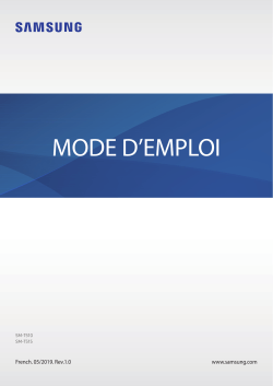 Samsung Galaxy Tab 2 Mode D Emploi : samsung, galaxy, emploi, Samsung, SM-T510, Operating, Instructions,, Reference, Guide,, Manual