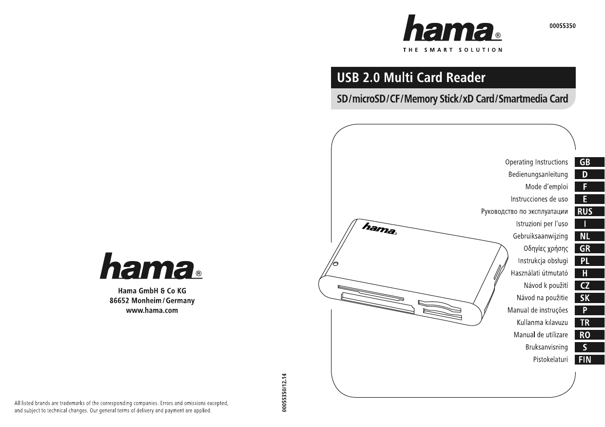 Hama 00055350