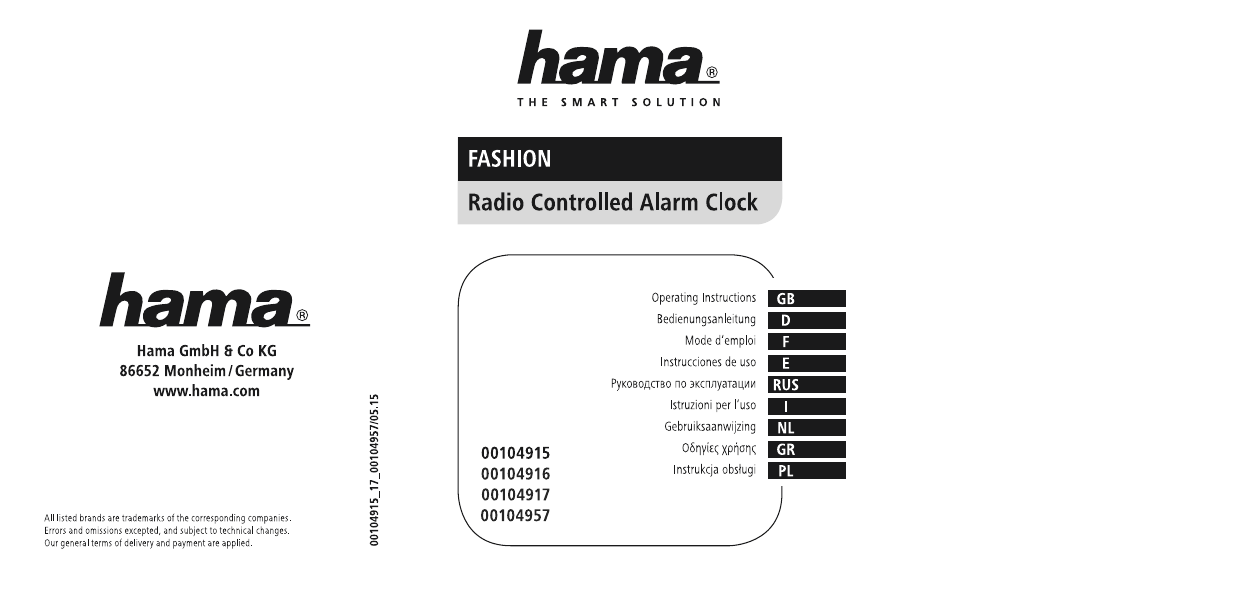 Hama 00104957