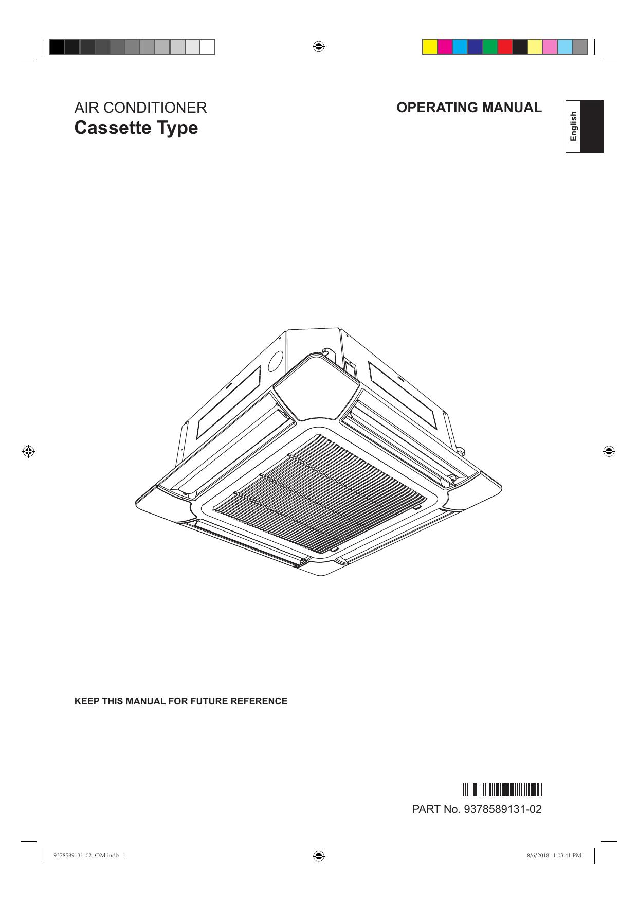 Fujitsu AUAG36LRLC-A, AUAG24LRLA-A Operating instructions