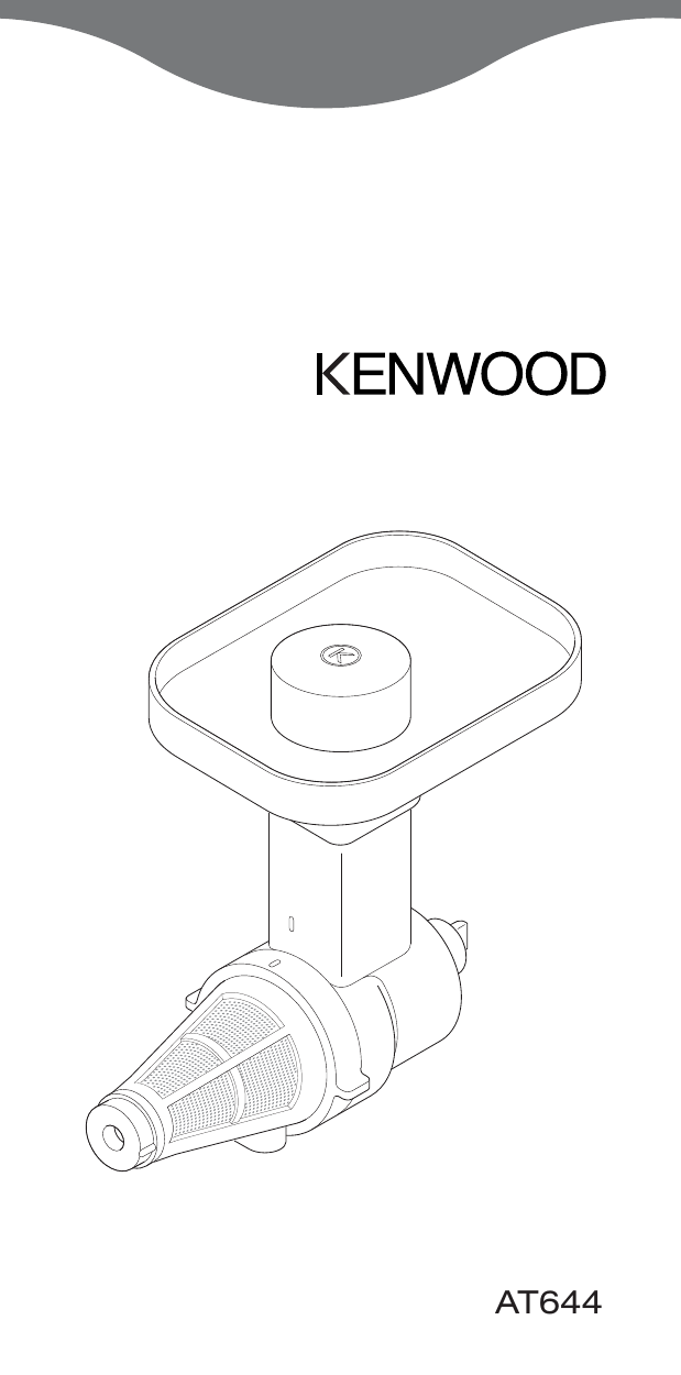 Kenwood AT644B (AWAT644B01) Руководство пользователя