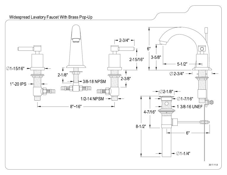 kingston brass wlks2967dl user manual