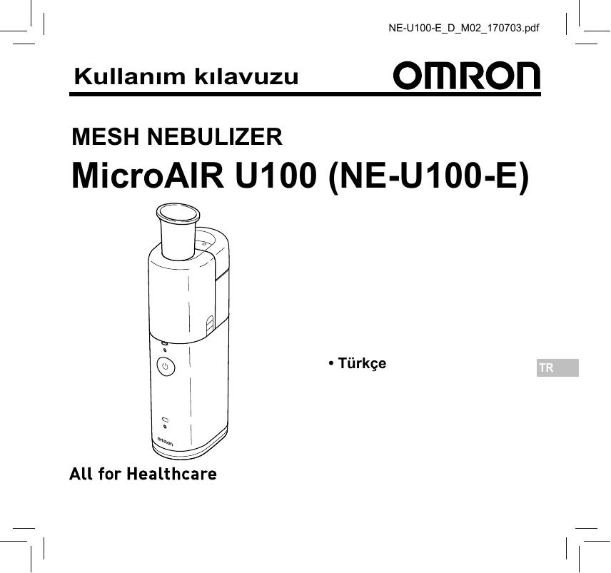 Omron Healthcare NE-U100-E MicroAir U100 Nebuliser
