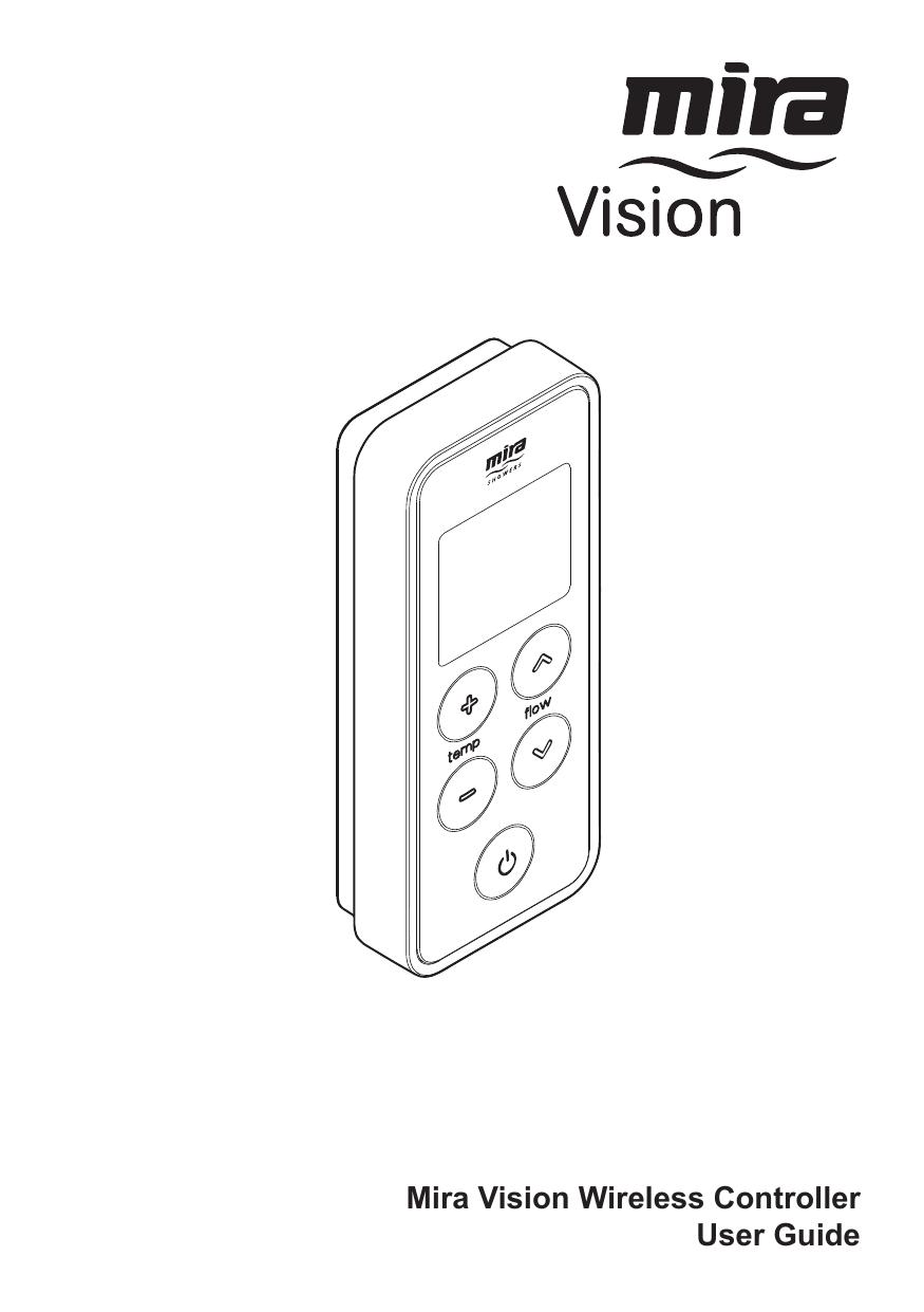 Mira Vision Digital shower Wireless Controller
