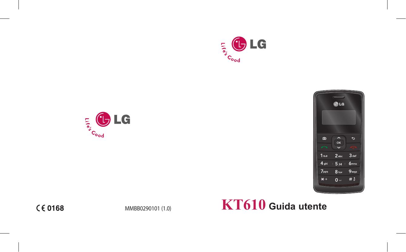 LG KT610.AMYSBK, KT610.AINDBK, KT610.AHITBK, KT610.AIDNBK