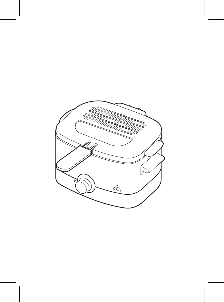 Tefal FF220015 Minifryer Standardowa frytownica 用户手册