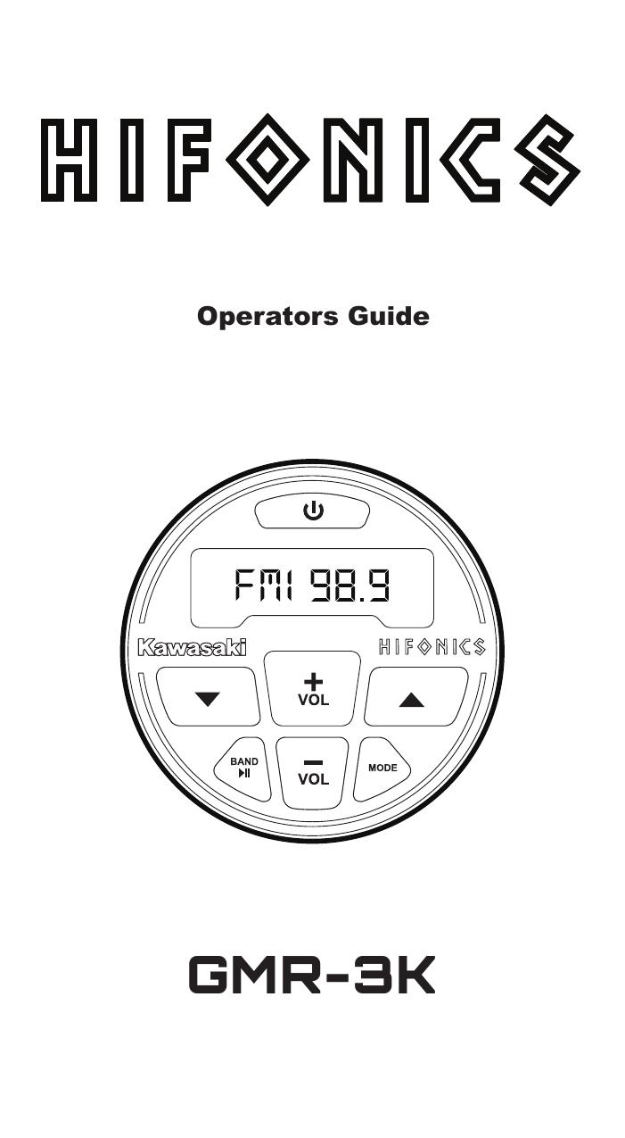 Hifonics 99994-1186 160 Watt MULE PRO-MX™ Audio Upgrade