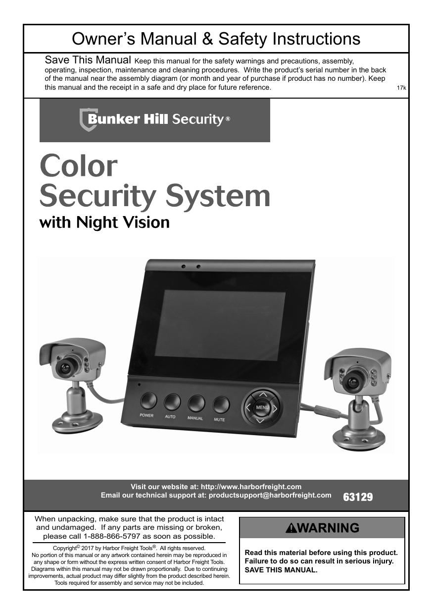 Bunker Hill Security Mobile Setup : bunker, security, mobile, setup, Bunker, Security, 63129, Owner's, Manual, Manualzz