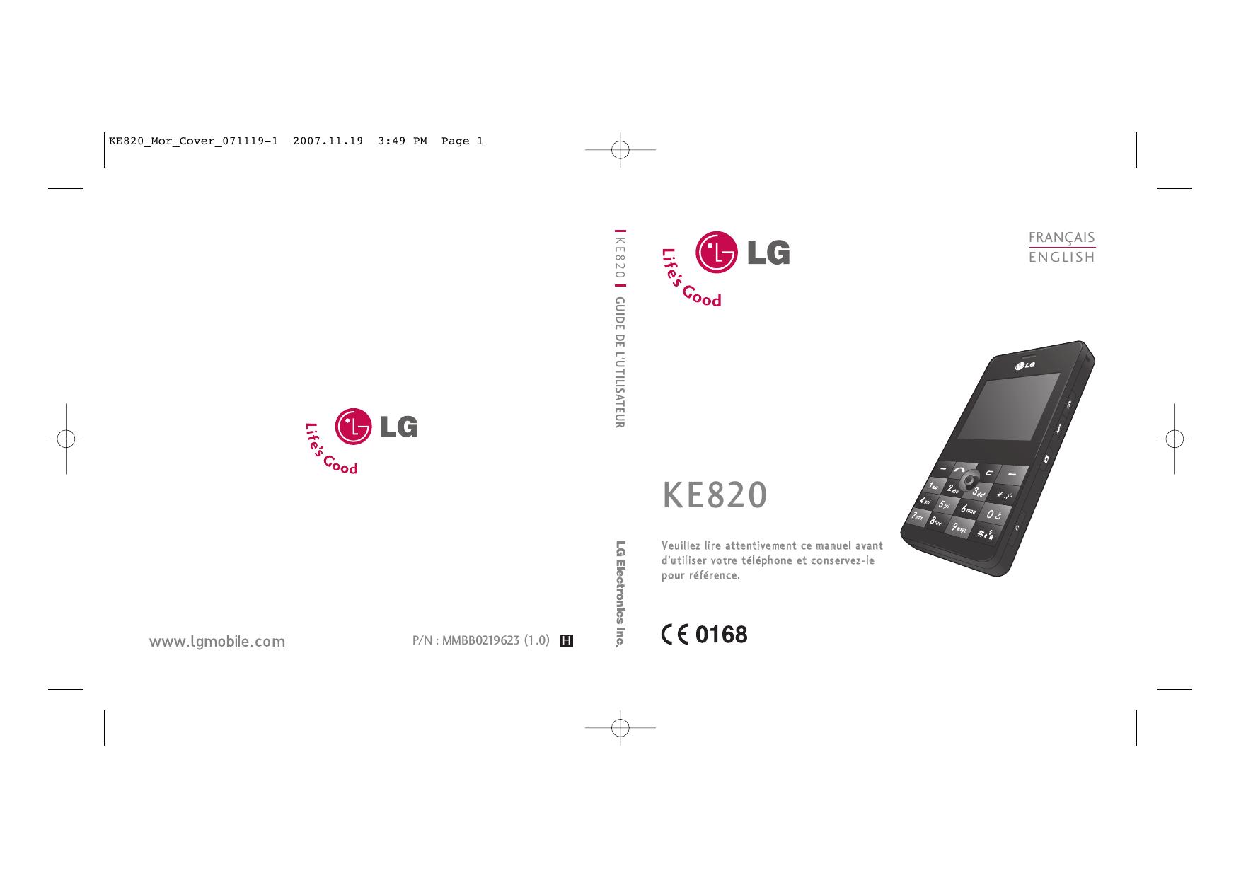 LG KE820.ASAUBK, KE820.ANLDBK, KE820.ASWEBK, KE820.ACISBK
