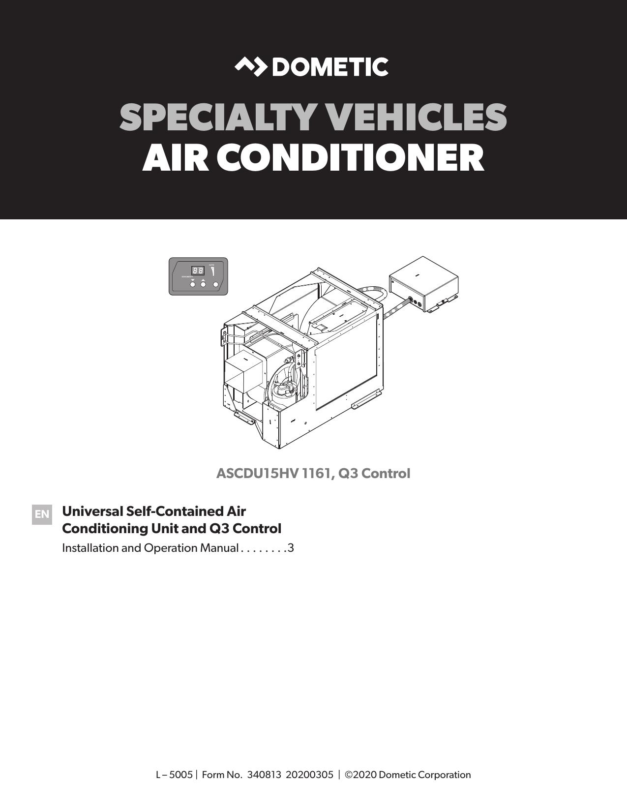 Dometic 15000 Btu Rv Air Conditioner Wiring Diagram