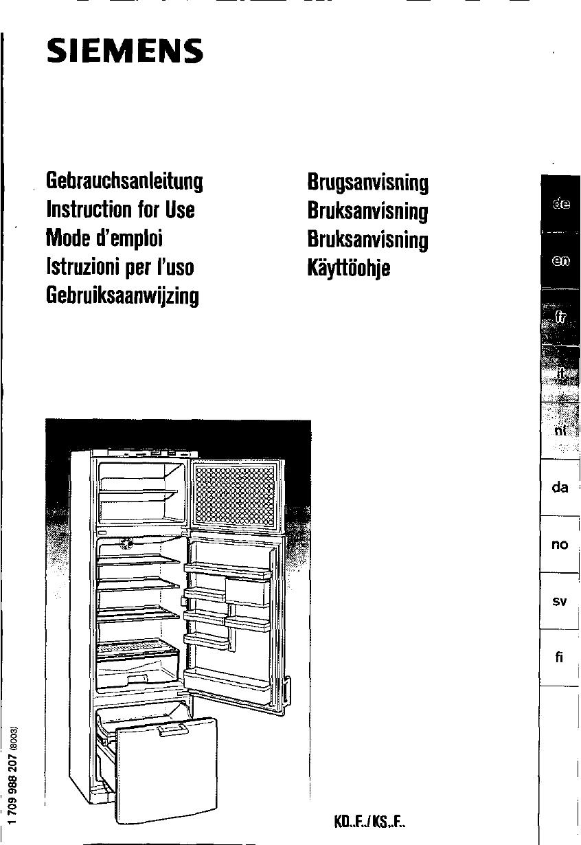 Siemens KS32F420/02, KS32F420/01, KS32F02/04, KS32F02/03