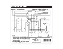 Maytag H6HK, 30 Kw 240V,1-Phase Electric Heater Kit