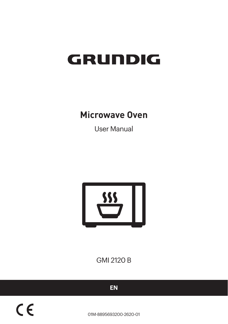 Grundig Built-in Microwave with Grill Fully Built-in
