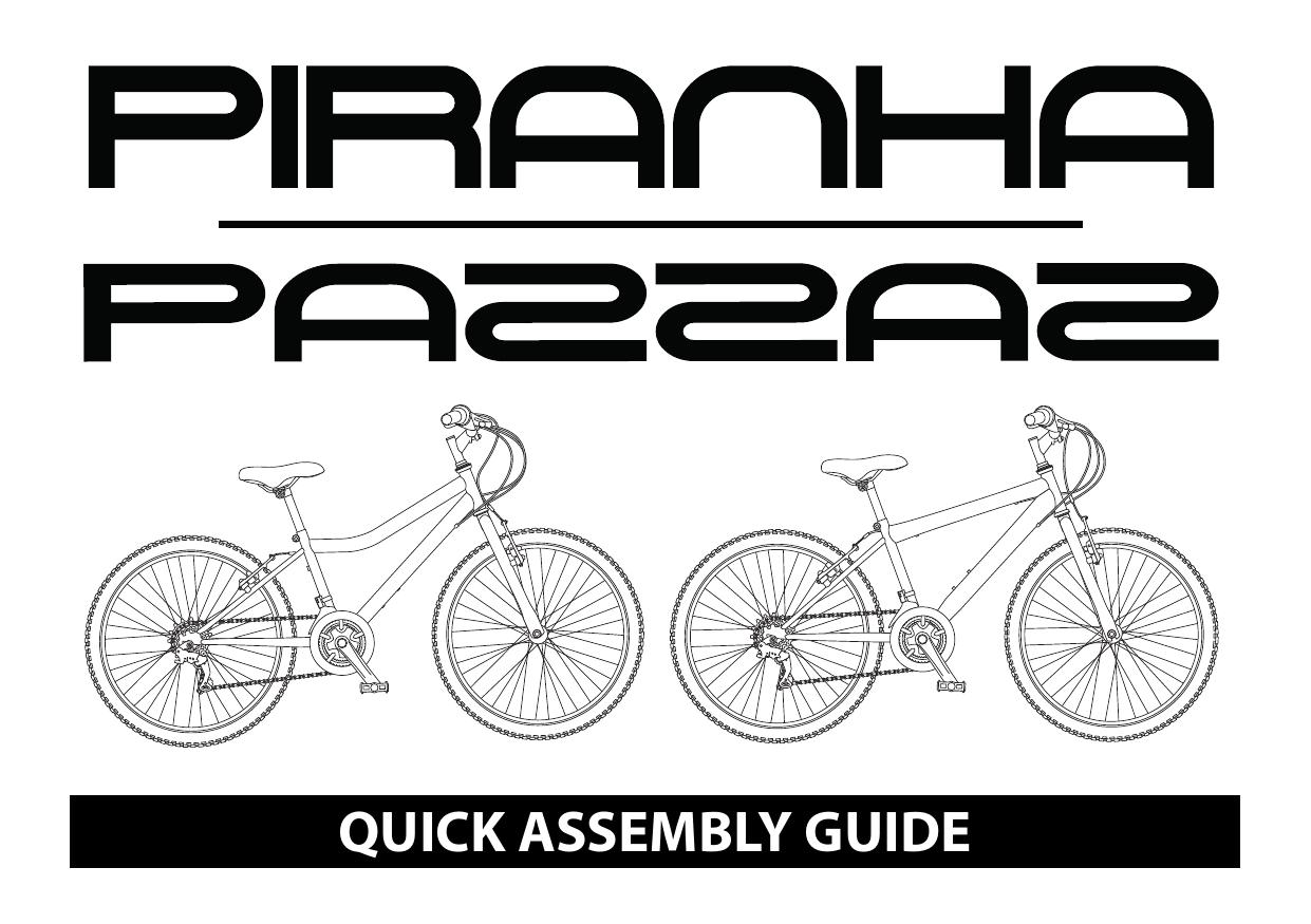 Piranha Blaze 24 inch Wheel Size Kids Mountain Bike User