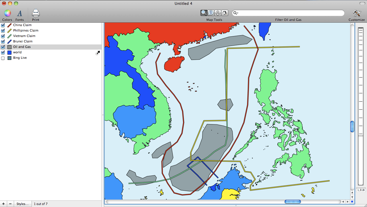 Mapping The South China Sea Dispute — Cartographica