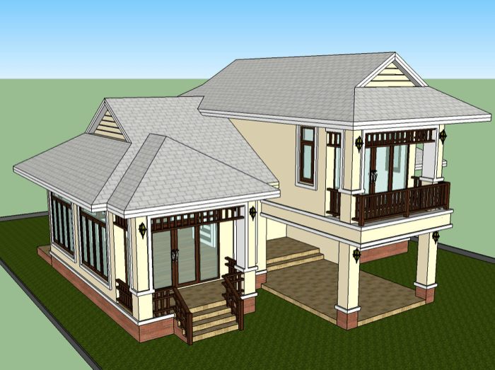 1 5 Storey Low Cost House Design U2014 NKD