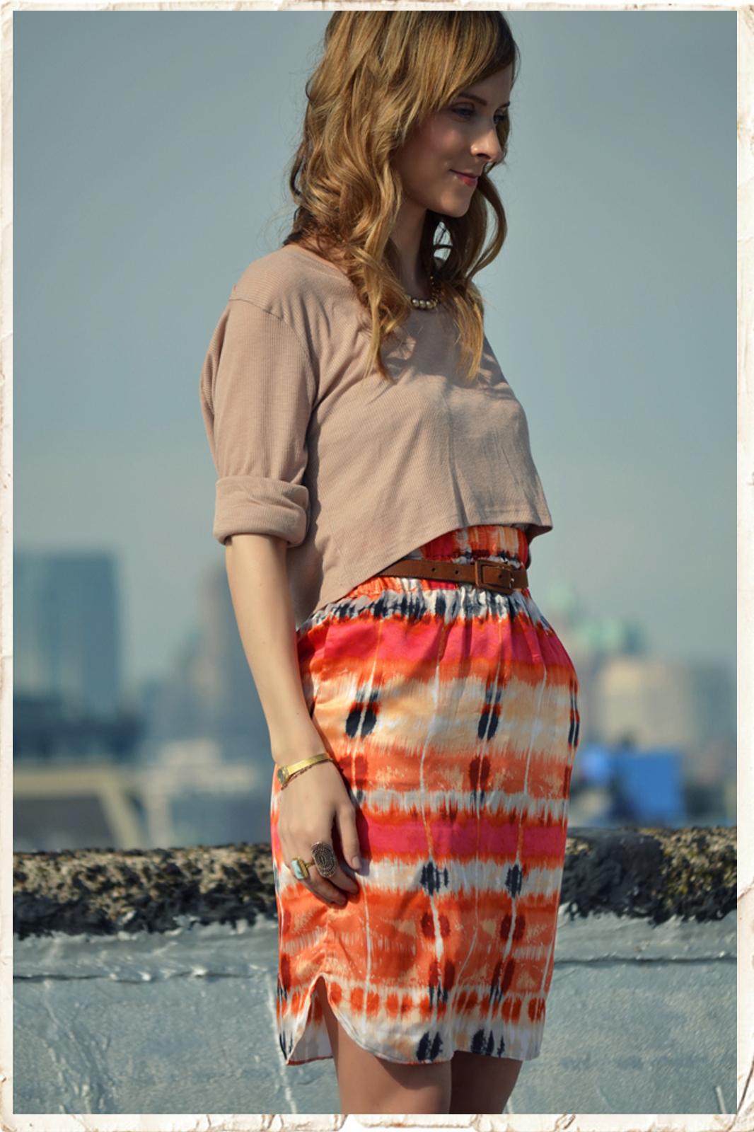 Lucy Laucht Silk Skirt