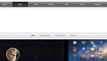 Apple on Firefox
