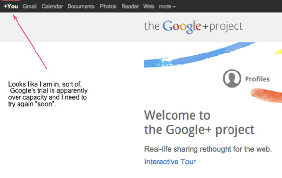 The Google+ project real life sharing rethought for the web