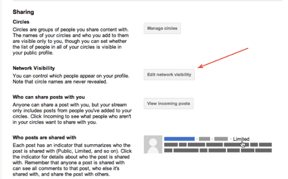 Profile and privacy  Account Settings