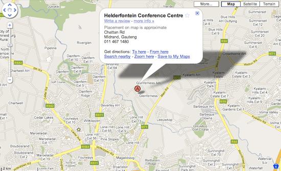 Helderfontein on Google Maps.png