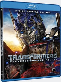 Transformers 2: Revenge Of The Fallen DVD & Blu