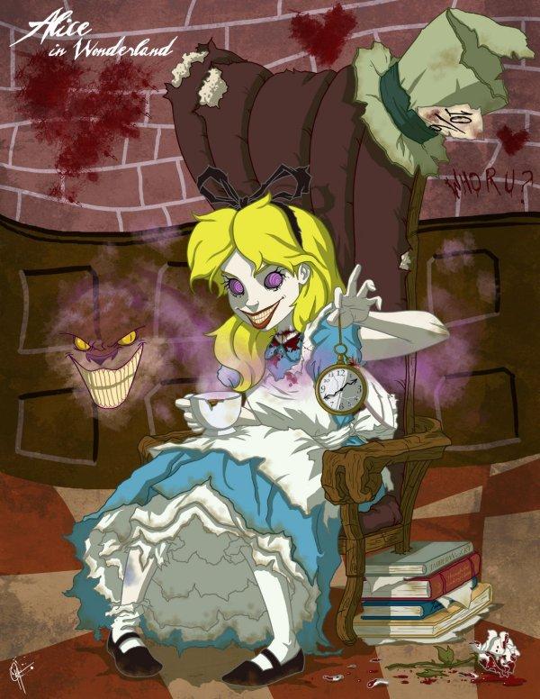 Awesome Creepy Disney Princess Art. Hugh Pic