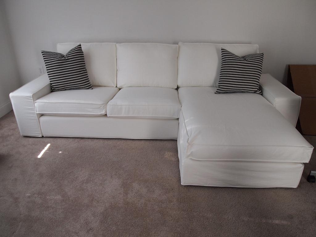 kivik sofa chaise duck egg blue slipcover capricious elle blog caprice ikea loveseat and