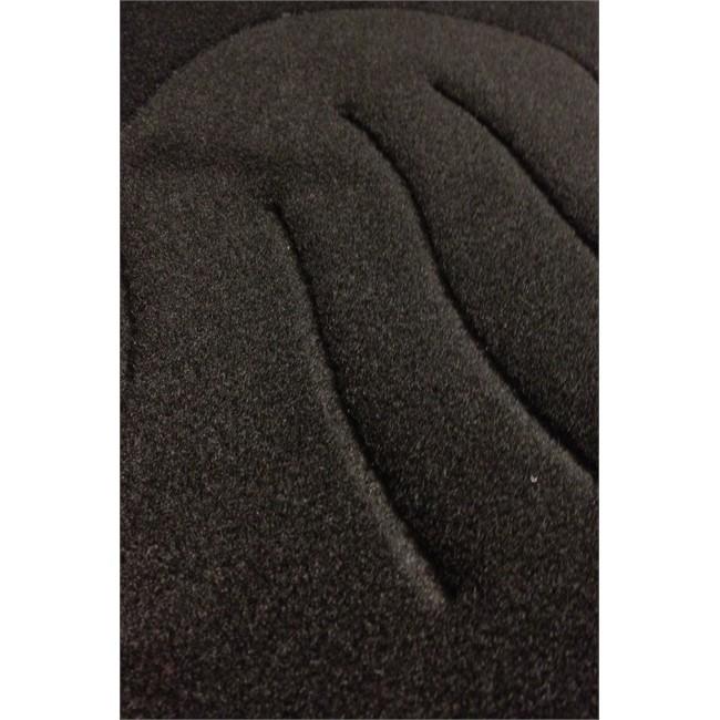 tapis tapis sur mesure jeu complet de tapis sur mesure noir en moquette norauto