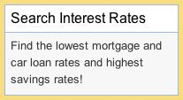 Find the lowest mortgage and car loan rates and highest savings rates!